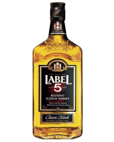 Виски Label Лэйбл 5 1л