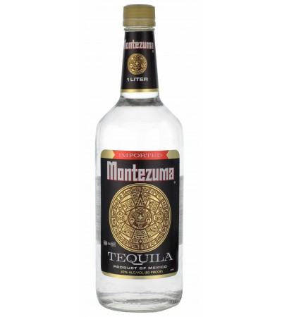 Текила Montezuma Silver Монтесума Бланко 1л