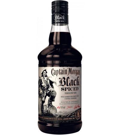 Ром Captain Morgan Black Spiced Капитан Морган Черный Пряный 1л