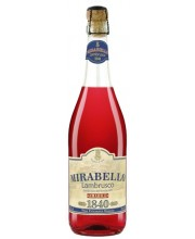 Игристое вино Mirabello Rosato Мирабелло Розато Ламбруско 0,75 л