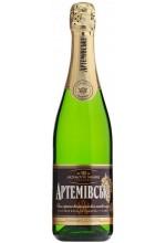 Игристое вино Артемовское Белое полусладкое 0,75л