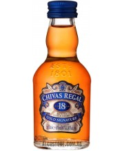 Виски Chivas Regal 18 years old 40% 0.05L
