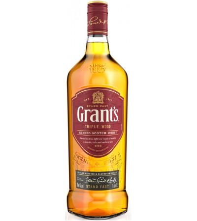 Виски Grant's Грантс 43% 1л