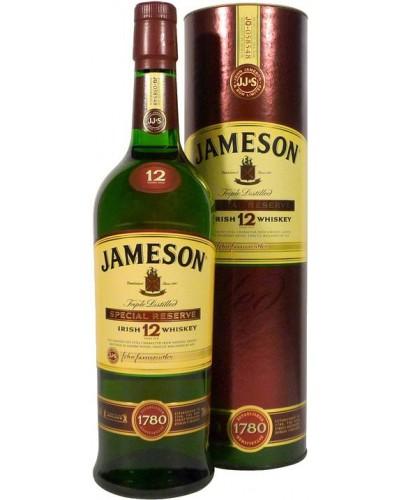 Виски Jameson 12 YO Джемисон 12 летний в тубе 1л