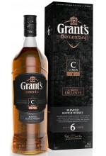 Виски Grant's Carbon 6 YO Грантс Карбон 6 лет 1л