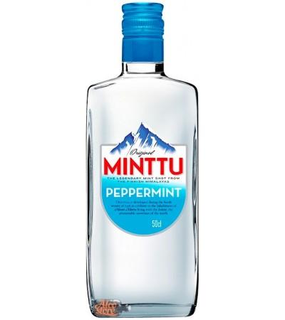 Ликер мятный Минтту Minttu Peppermint 50% 0,5л