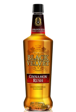 Виски Black Velvet Cinnamon Rush Блэк Вельвет Корица 1л