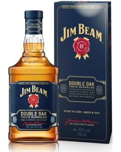 Виски Jim Beam Double Oak Джим Бим Дабл Оак 1л