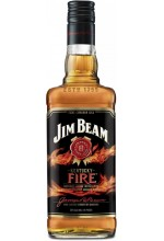 Виски Jim Beam Kentucky Fire Джим Бим Корица 1л