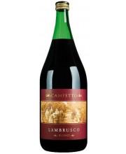 Игристое вино Campetto Lambrusco Rosso красное 1,5 л