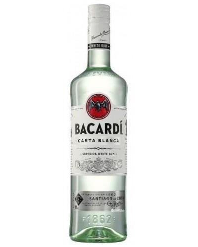 Ром Bacardi Carta Blanca Бакарди Бланко 1л