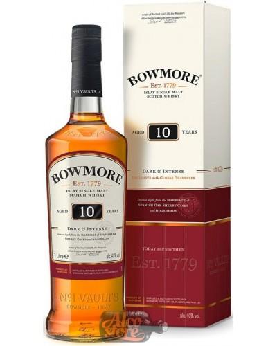 Виски Bowmore Sherry Casks 10 YO Боумор 10 лет 1л