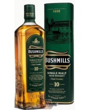 Виски Bushmills Malt 10 Year Old Бушмилс Молт 10 лет 0.7л