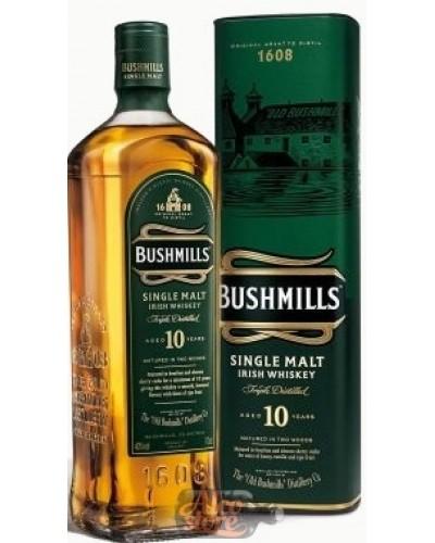 Виски Bushmills Malt 10 Year Old Бушмилс Молт 10 лет 1л