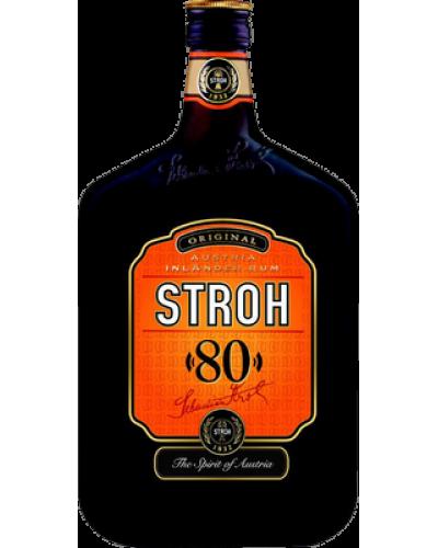 Ром Stroh Штро 80% 1л