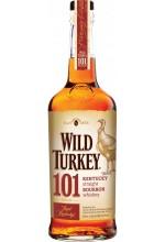 Виски Wild Turkey 101 Бурбон Дикая Индейка 1л
