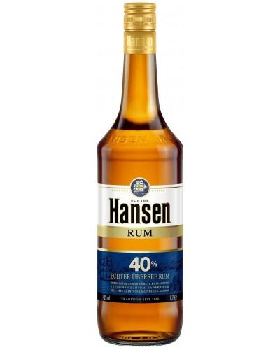 Ром Hansen Хансен темный 1л