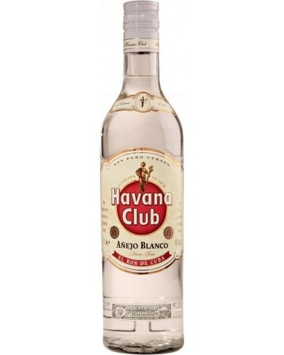 Ром Havana Club Anejo Blanko Гавана Клаб Аньехо Бланко 1л