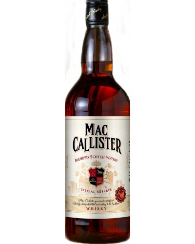 Виски MacCallister МакКаллистер 1l
