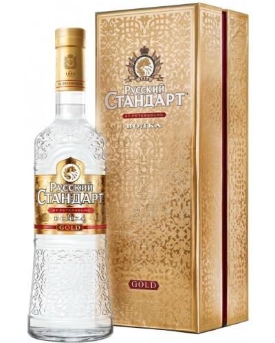 Водка Russian Standard Gold Русский Стандарт Голд 1л
