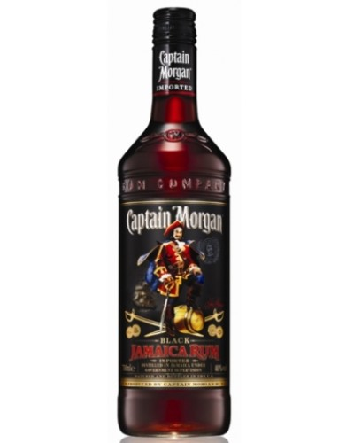 Ром Captain Morgan Black Капитан Морган Блэк 1л
