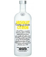 Водка Absolut Citron Абсолют Лимон 1л