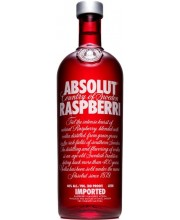Водка Absolut Raspberry Абсолют Малина 1л