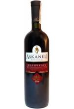 "Вино красное полусладкое ASKANELI ""Хванчкара"" 0,75л"