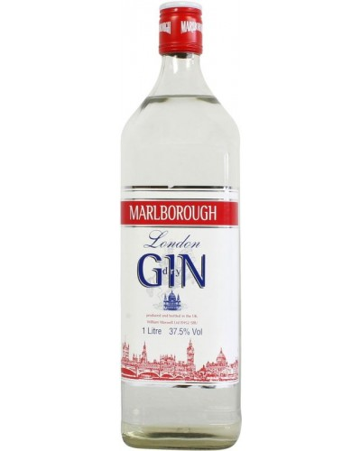 Джин Marlborough London Dry Мальборо Лондон Драй 1л