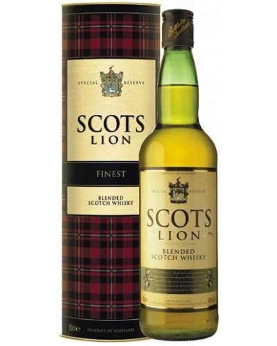 Виски Scots Lion в тубе 1л