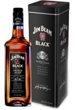 Виски Jim Beam Black 6 YO Джим Бим Блэк в метал. коробке 1л