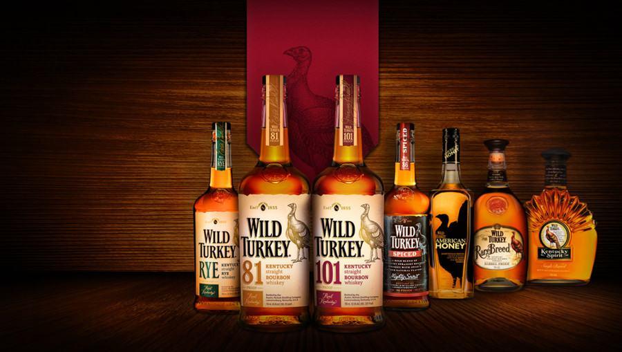Wild Turkey (Дикая Индейка) 1л купить сейчас!
